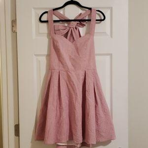 Lauren James Livingston Seersucker Dress